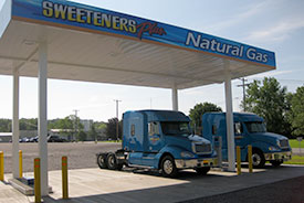 Sweeteners Plus Natural Gas Filling Station