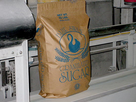 50-Pound Bags of Granulated Sugar
